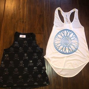 2 Soulcycle tanks